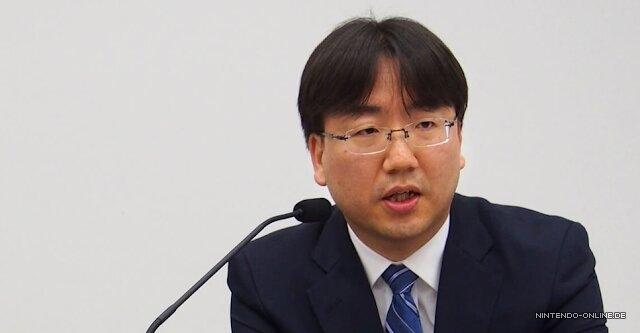 Das Bild zeigt den Präsident von Nintendo, Shuntaro Furukawa.