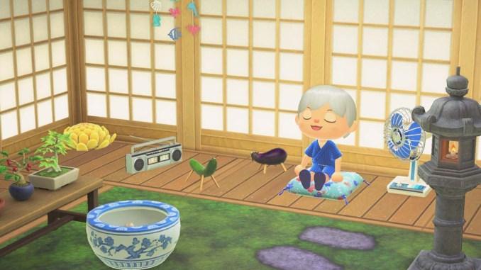 """Das Bild zeigt die neuen saisonalen Items aus dem Update 1.11 für """"Animal Crossing: New Horizons""""."""
