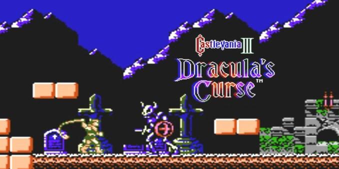 Das Bild zeigt einen Screenshot aus Casltevania III: Dracula´s Course