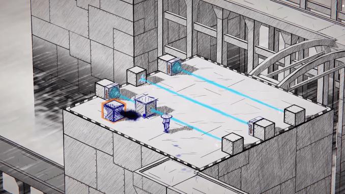 """Das Bild zeigt eine Szene aus dem Spiel """"Inked: A Tale of Love""""."""