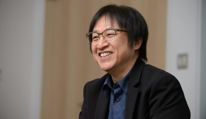 Das Bild zeigt einen Direktor von Nintendo.