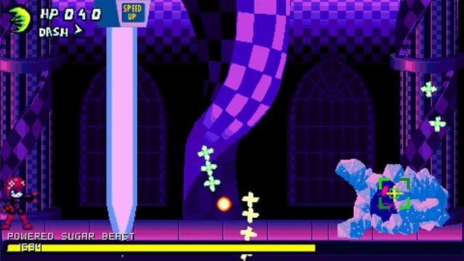 """Das Bild zeigt eine Szene aus dem Spiel """"Xenogunner""""."""