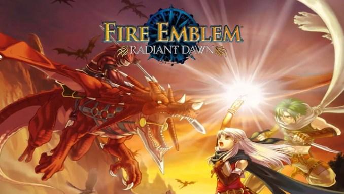 Das Bild zeigt das Titelbild des Spiels Radaint Dawn