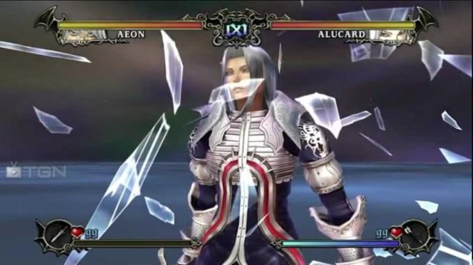 Das Bild zeigt einen Ingame-Screen von Castlevania: Judgement