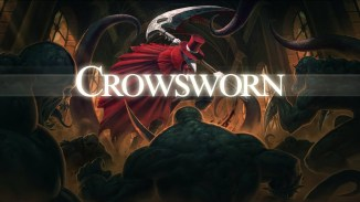 Das Bild zeigt das Titelbild des Spiels Crowsworn
