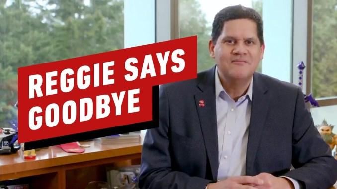 Auf dem Bild sieht man den ehemaligen Präsidenten von Nintendo. Sein Name ist Reggie Fils-Aime.
