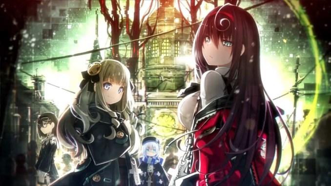 Das Bild zeigt das Titelbild des Spiels Death end re;Quest 2