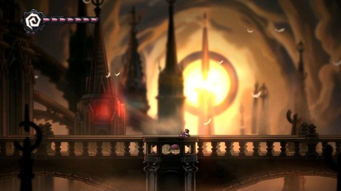 Das Bild zeigt das Gameplay aus dem Spiel Crowsworn.