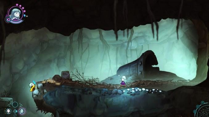 """Das Bild zeigt eine Szene aus dem Spiel """"Greak: Memories of Azur""""."""