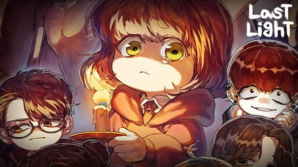 """Das Bild zeigt das Logo und die Protagonistin von """"Last Light""""."""