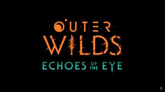 """Das Bild zeigt das Logo des """"Outer Wilds"""" – Echoes of the Eye-DLCs."""