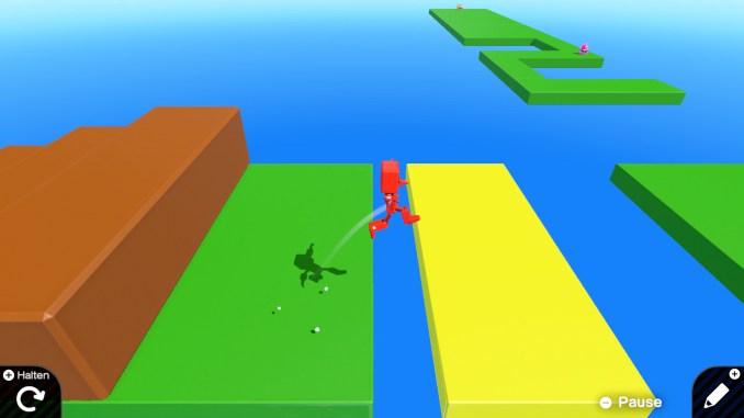 """Das Bild zeigt eine 3D-Welt in """"Spielestudio""""."""