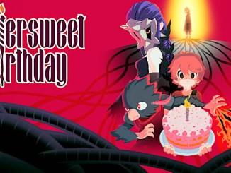 """Das Bild zeigt das Logo von """"Bittersweet Birthday""""."""