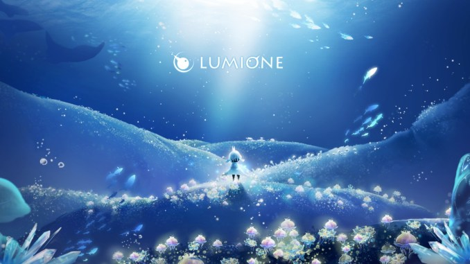 """Das Bild zeigt eine Szene aus dem Spiel """"Lumione""""."""
