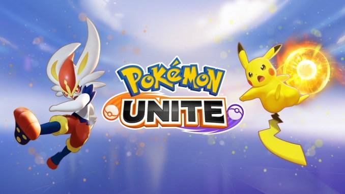 """Das Bild zeigt das Logo von """"Pokémon Unite""""."""