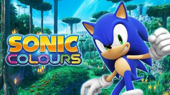 Das Bild zeigt das Titelbild aus dem Spiel Sonic Colors Ultimate