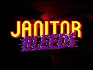 """Das Bild zeigt das Logo von """"Janitor Bleeds""""."""