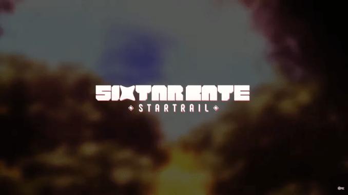 """Das Bild zeigt das Logo von """"Sixtar Gate: Startrai""""."""