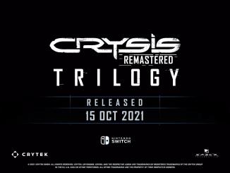"""Das Bild zeigt das Logo des Spiels """"Crysis Remastered Trilogy""""."""