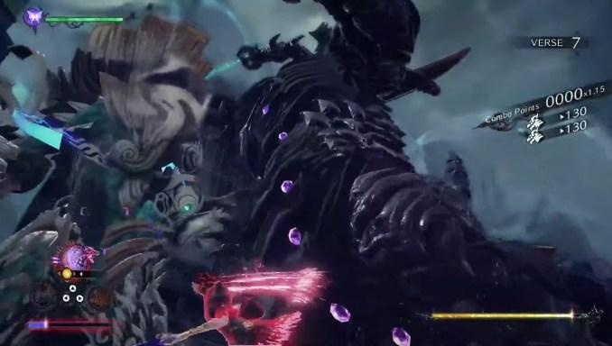 """Das Bild zeigt Kaiyu-ähnliche Kreaturen in """"Bayonetta 3""""."""