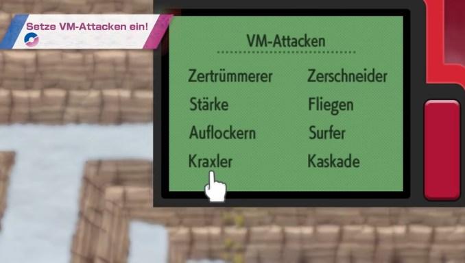 """Das Bild zeigt den Pokétch in """"Pokémon Strahlender Diamant"""" und """"Leuchtende Perle""""."""