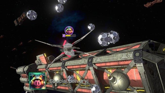 Das Bild zeigt eine Szene aus der Wii U-Fassung des Spieles.