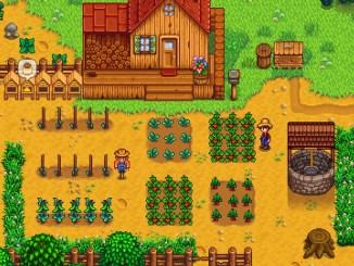 """Das Bild zeigt eine Szene aus dem Spiel """"Stardew Valley""""."""