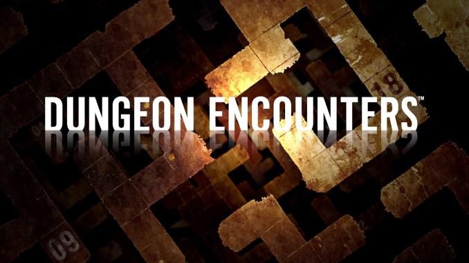"""Das Bild zeigt das Logo von """"DUNGEON ENCOUNTERS""""."""