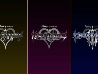 """Das Bild zeigt alle drei Teile der """"Kingdom Hearts""""-Reihe, welche als Cloud-Version erscheinen."""
