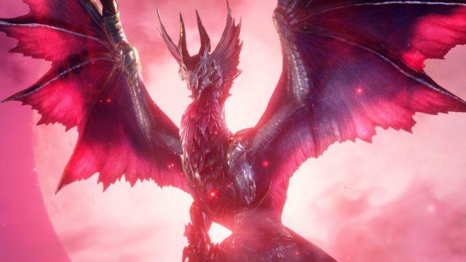 "Das Bild zeigt das Flaggschiff-Monster der Erweiterung ""Monster Hunter Rise: Sunbreak""."