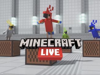 """Das Bild zeigt das Logo der """"Minecraft Live""""."""