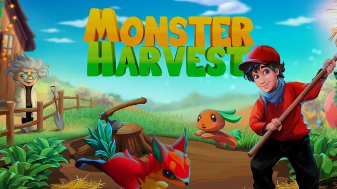 """Das Bild zeigt das Logo von """"Monster Harvest""""."""