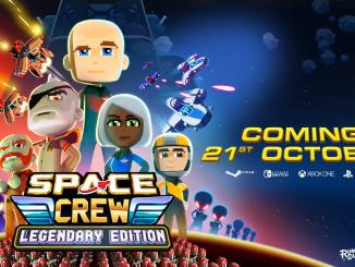 """Das Bild zeigt das Logo der Legendary Edition von """"Space Crew""""."""