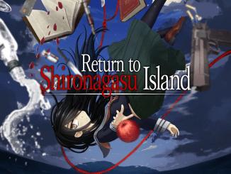 """Das Bild zeigt das Logo von """"Return to Shironagasu Island""""."""