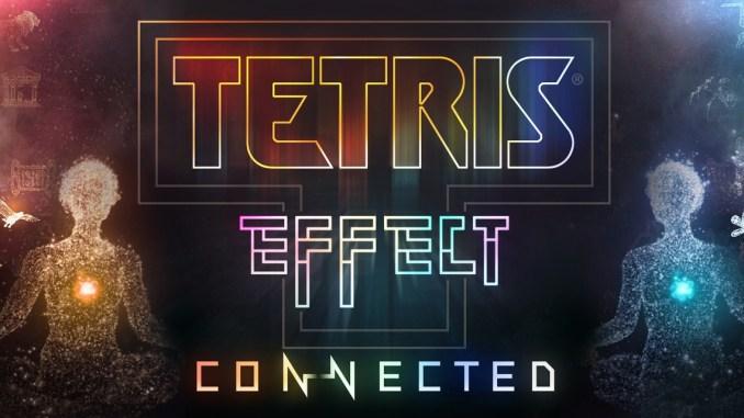 """Das Bild zeigt das Logo von """"Tetris Effect: Connected""""."""