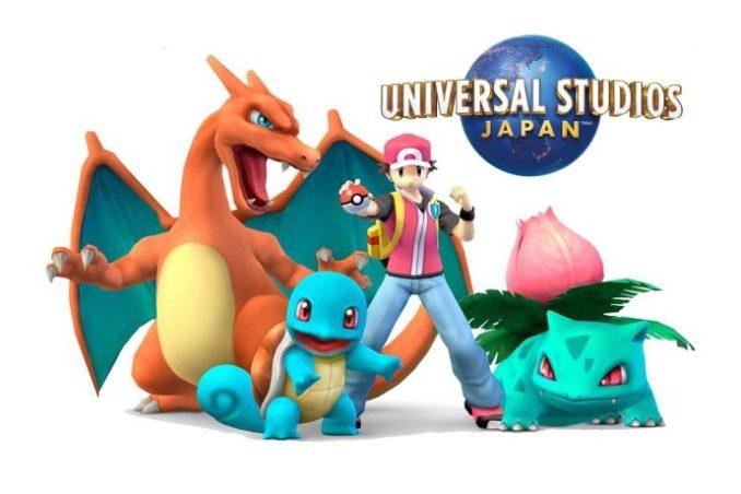 Das Bild zeigt Ash und seine Starter Pokémon.