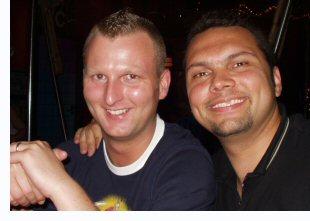 Daniel Schorsch Wagner (links) und Bomber Manolo