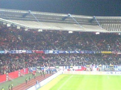 UEFA-Cup Nuremberg Everton im Frankenstadion