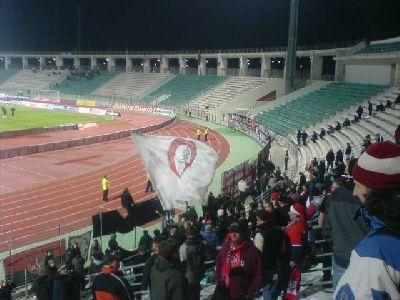 Panthessaliko-Stadion in Volos Larisa Nürnberg Norimberga