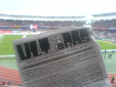 Fanboykott der Ultras Nürnberg