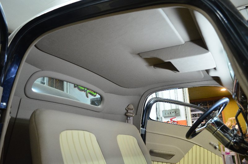Shusta Custom Interior Hot Street Rat Rod Upholstery