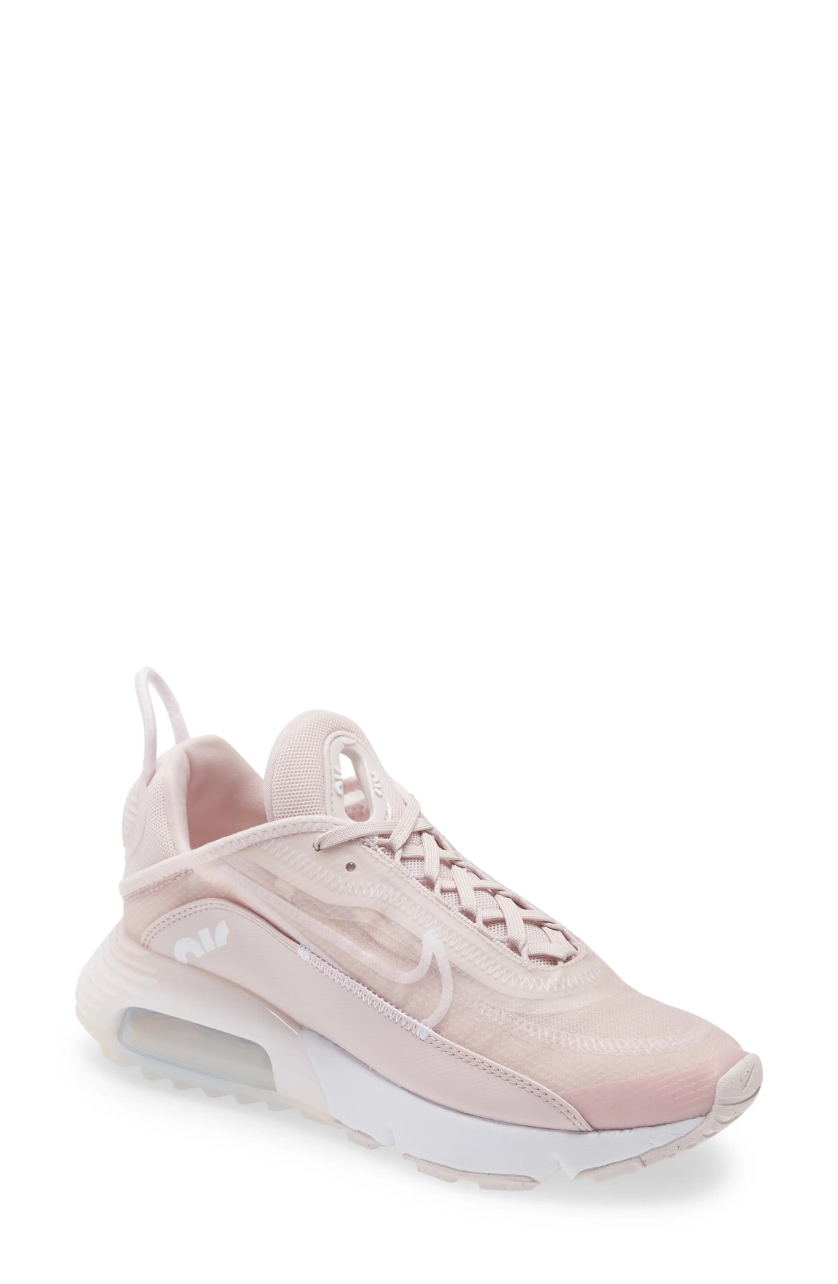 NIKE Air Max 2090 Sneaker, Main, color, BARELY ROSE/ WHITE/ SILVER
