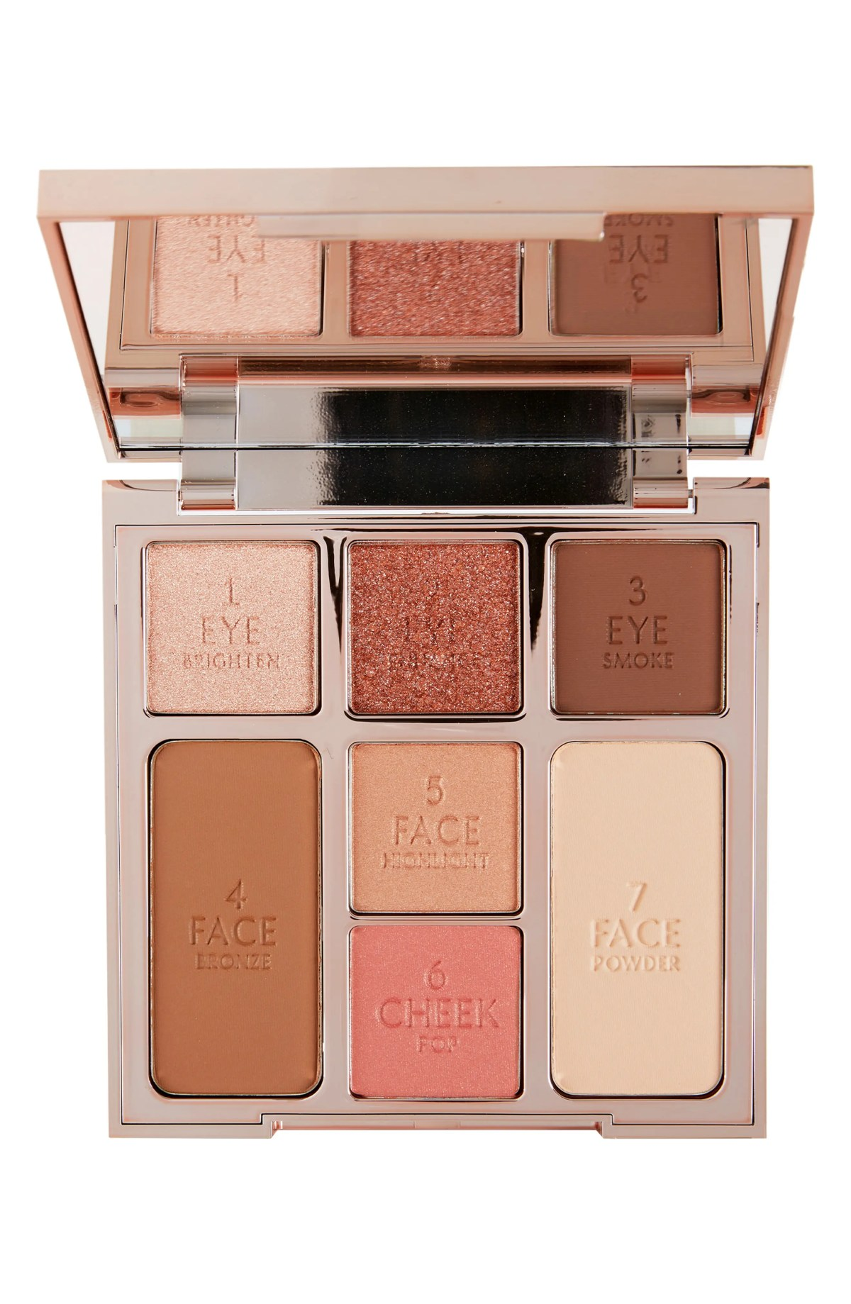 CHARLOTTE TILBURY Instant Look of Love in a Palette Eyeshadow & Face Palette, Main, color, GLOWING BEAUTY