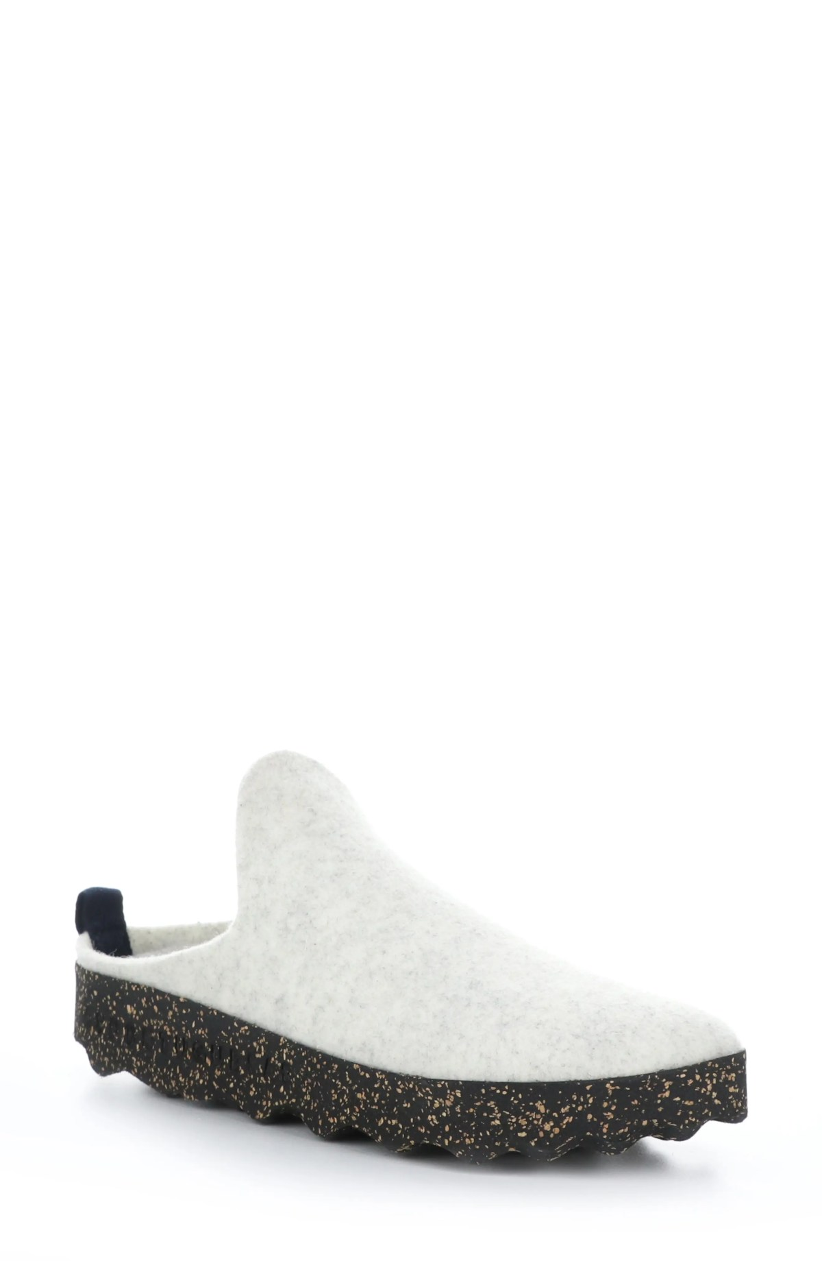 ASPORTUGUESAS BY FLY LONDON Fly London Come Sneaker Mule, Main, color, MARBLE WHITE TWEED/ FELT