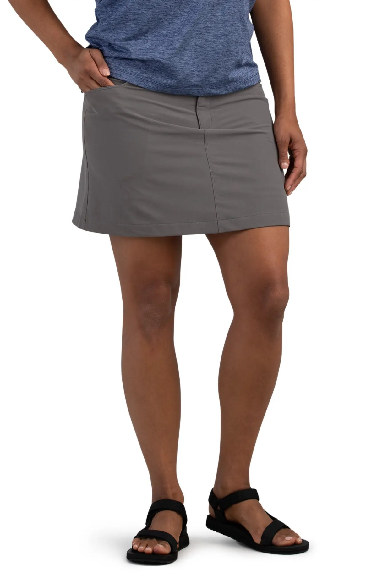 OUTDOOR RESEARCH Women's Ferrosi Performance Skort, Main, color, PEWTER