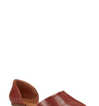 LUCKY BRAND Drowe Flat, Main, color, RANCHO RED LEATHER