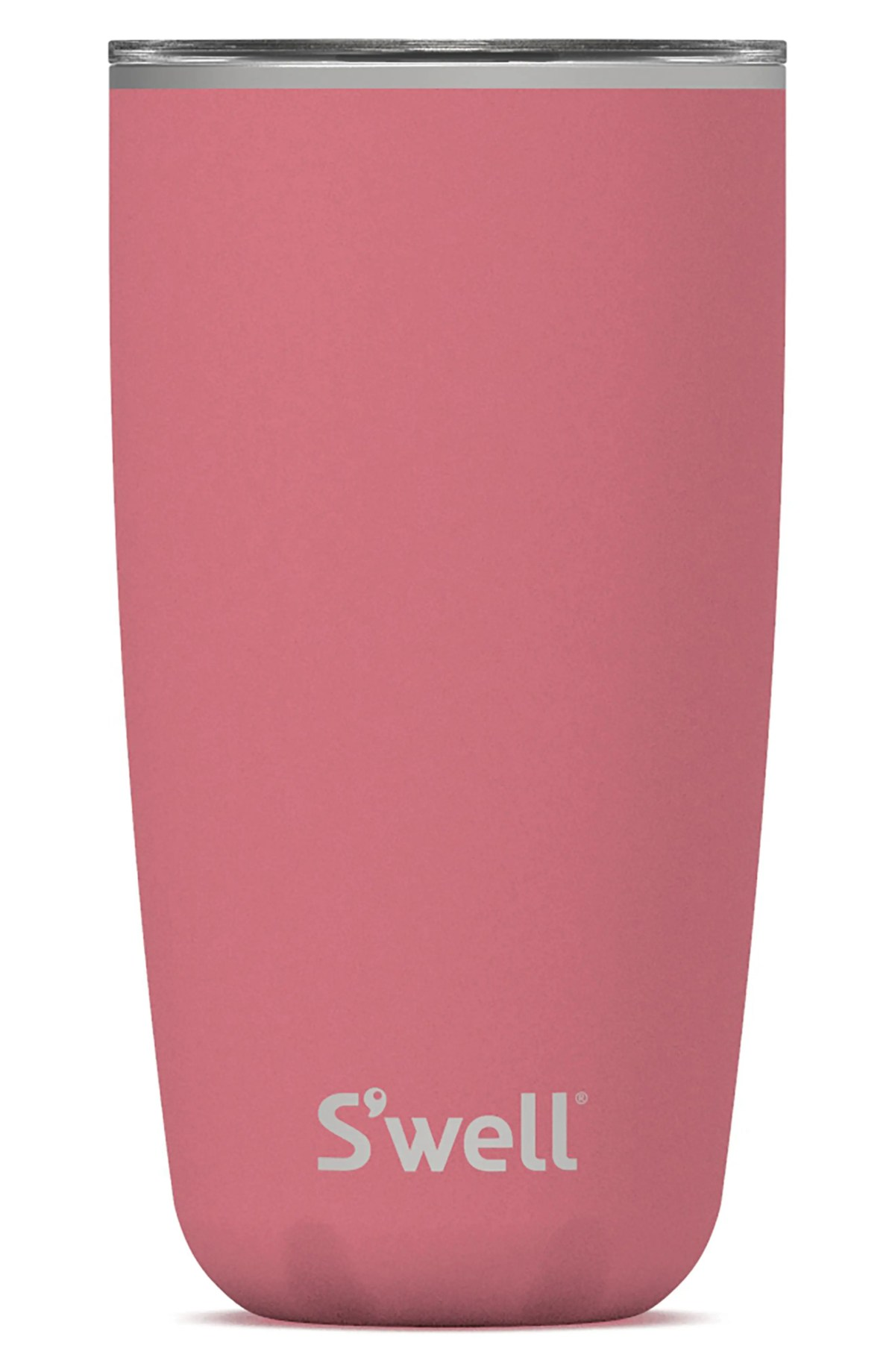 S'WELL 18-Ounce Insulated Stainless Steel Tumbler, Main, color, PINK