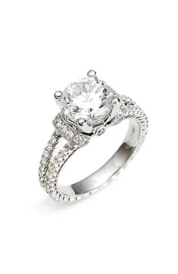 Jack Kelége 'Romance' Diamond Engagement Ring Setting
