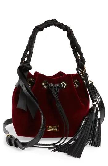 Frances Valentine Small Velvet Bucket Bag Nordstrom
