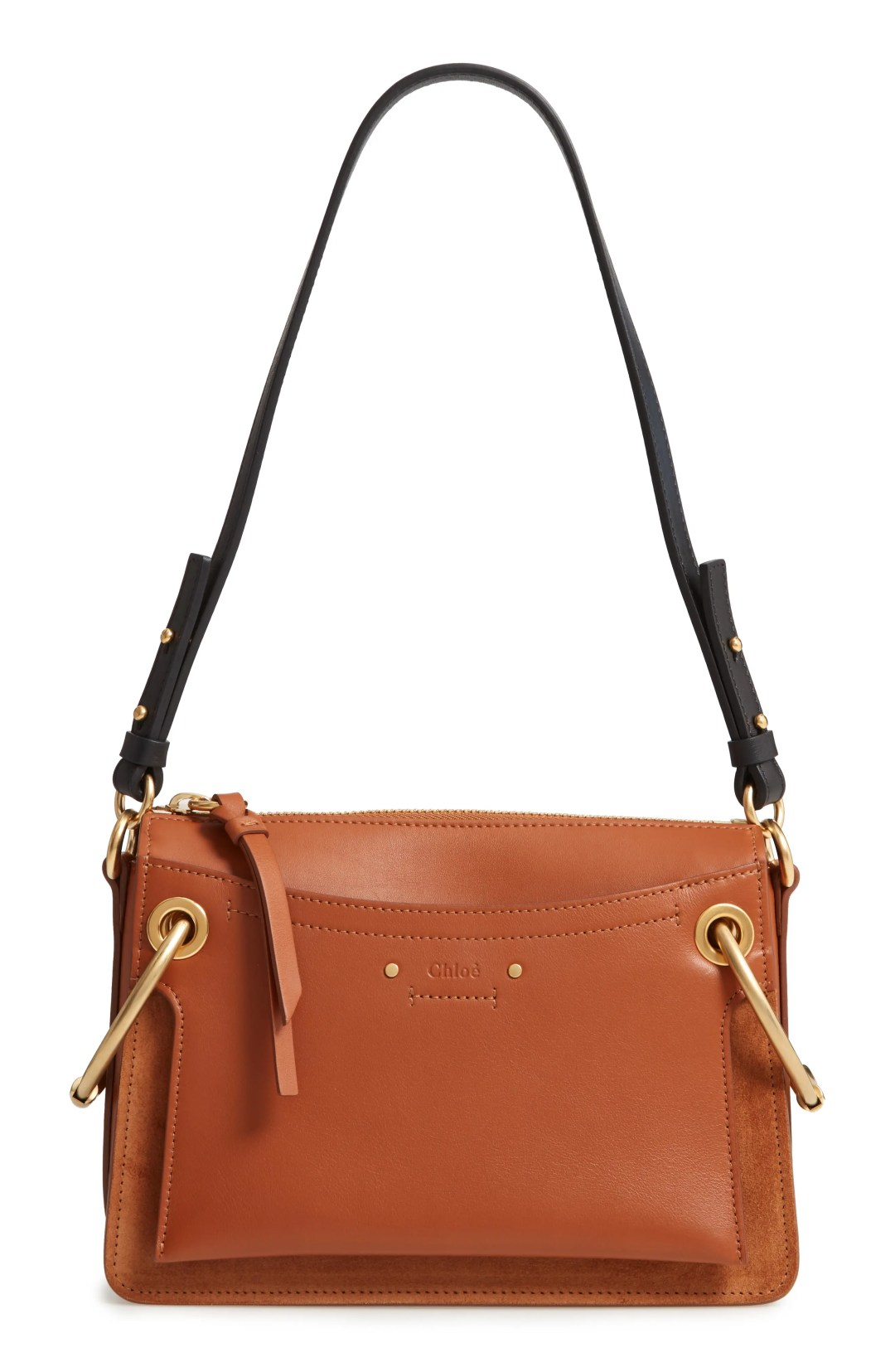 a9b316a1ed6 Chloé Small Roy Leather Shoulder Bag